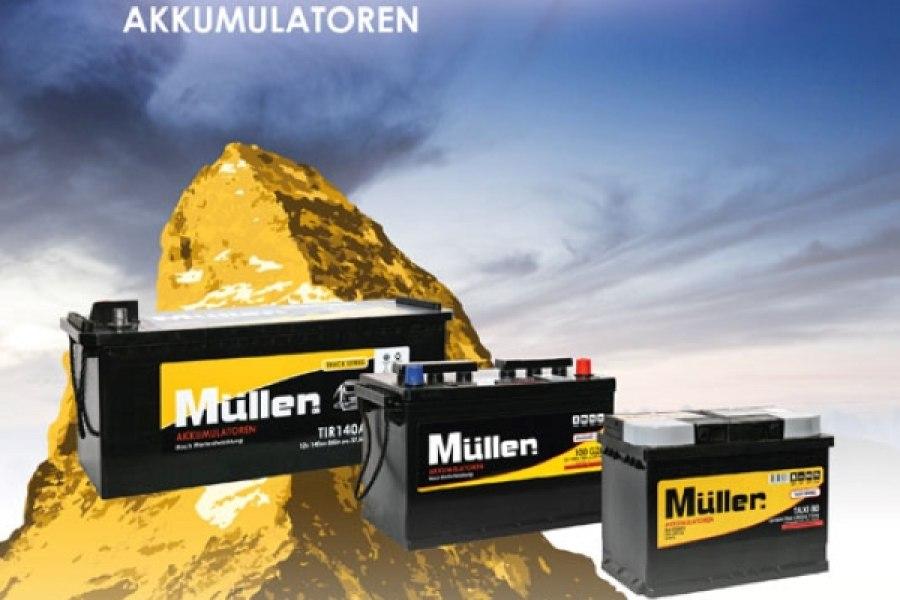 MULLER batterie
